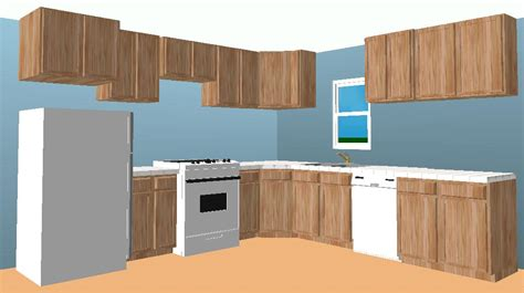L Shaped Kitchen Cabinet Layout | sle l shaped kitchen design afreakatheart