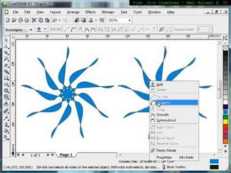 Tutorial Mastering Coreldraw 1 using complex tool tutorial corel draw tips and