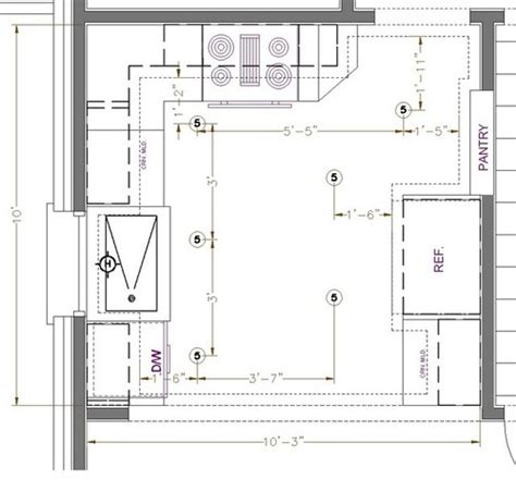 Kitchen Lighting Design Layout Help With Kitchen Lighting Layout