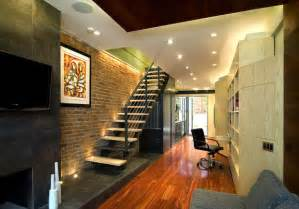 Row Home Decorating Ideas Design Lessons From A 10 Foot Wide Row House