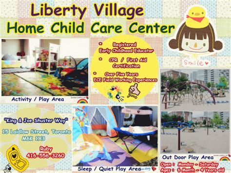liberty home chld care center in toronto infant