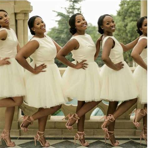 african short wedding dresses slaying bridesmaids graceoutlook bridesmaidinspiration
