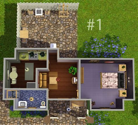 Sims 3 Starter House Plans Mod The Sims Quot Ledomus Quot Starter Home Plan 1 No Cc