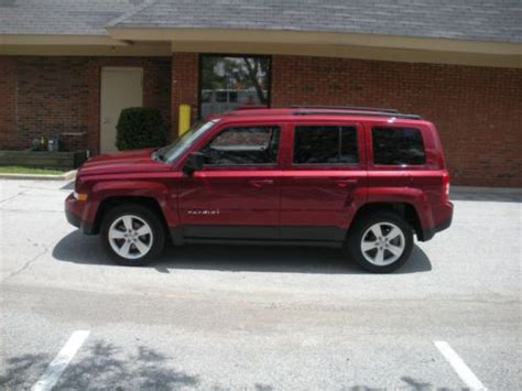 maroon jeep patriot purchase used 2011 maroon jeep patriot latitude x 2wd in