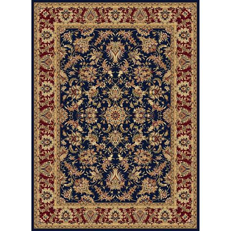Concord Rugs by Shop Concord Global Cyrus Navy Rectangular Indoor Woven