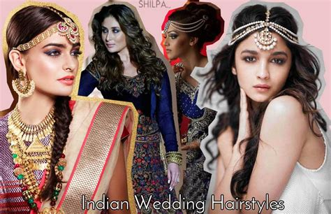 Wedding Reception Hairstyles For Indian by Reception Hairstyle And Indian Wedding Hair Style Ideas