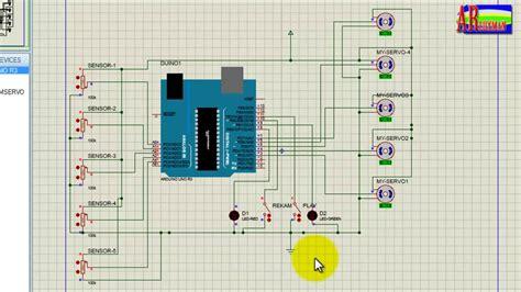 tutorial gambar robot tutorial simulasi robot arm arduino dengan proteus