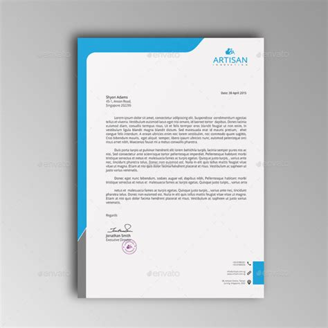 40 free premium letterhead templates in multiple