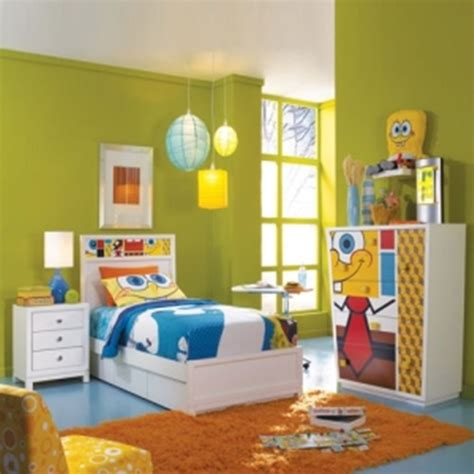 spongebob bedroom spongebob square pants themed room design interior design