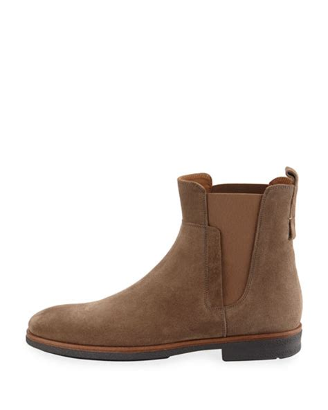 light suede chelsea boots vince s suede chelsea boot light brown