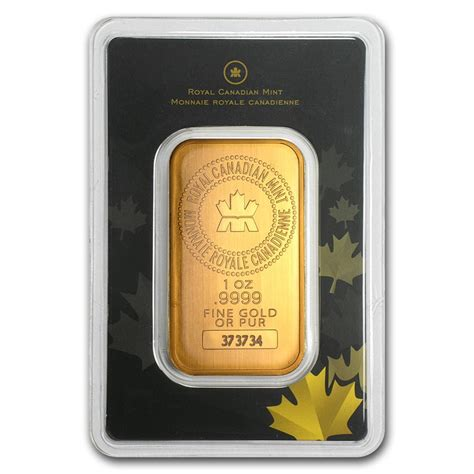 10 Oz Silver Bar Rcm 9999 New Style - royal canadian mint 1 oz gold bar for sale rcm gold