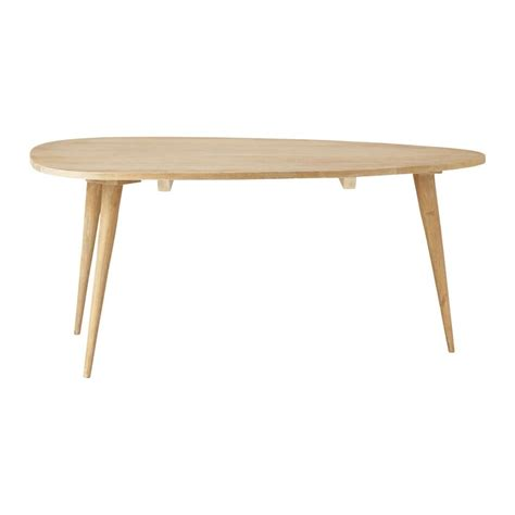 table basse vintage en manguier massif l 100 cm trocadero