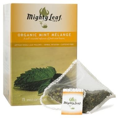 buy mighty leaf organic mint melange tea at well.ca | free