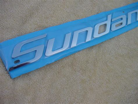 Emblem Tulisan 24 25 sea sundancer boat emblem logo badge new chrome