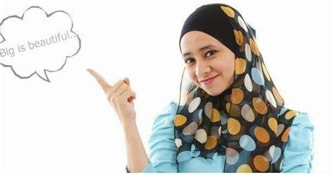 tutorial berhijab untuk orang gemuk tips berhijab komunitas hijabers fashion moslem