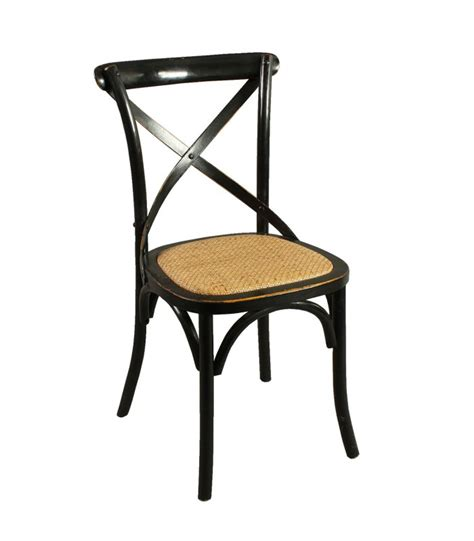 chaise bistrot rotin chaise bistrot bois noir et assise rotin naturel wadiga com