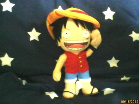 One Fever Toys Monkey D Luffy monkey d luffy plush one by kurohimex105 on deviantart