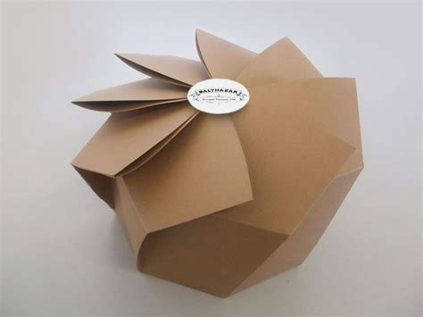 Origami Packaging Design - fmp brief 5 chaophraya origami influence packaging