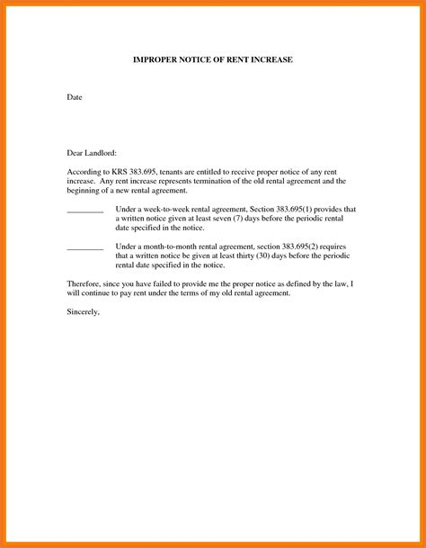 rent increase notice template 3 4 rent increase letter to tenant moutemplate