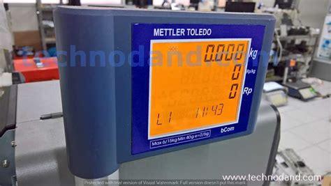Timbangan Mettler Toledo timbangan digital mettler toledo bcom error label keluar