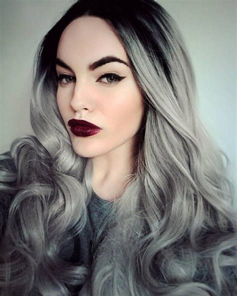 age appropriate for ombre women grey blue hair color trends for all season and all
