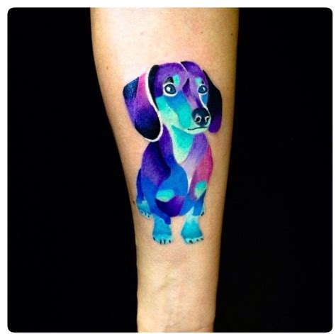 the 25 best dachshund tattoo ideas on pinterest dog m 225 s de 25 ideas incre 237 bles sobre tatuaje de perro