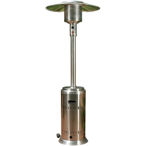 Commercial Propane Patio Heaters Sense 46000 Btu Commercial Propane Patio Heater With Pilotless Electronic Ignition Stainless