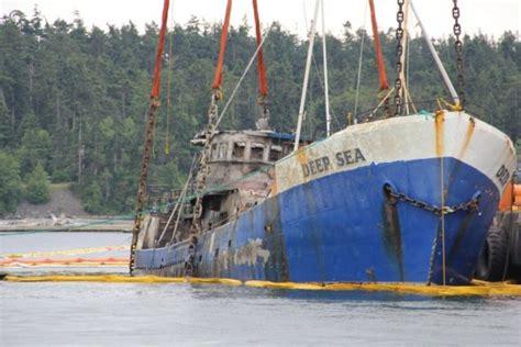 deep sea fishing boat sank bill in legislature seeks early action for derelict vessels