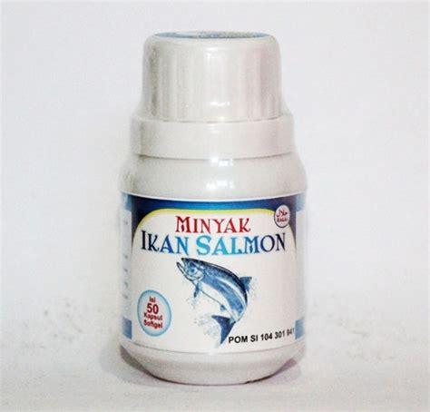 Kapsul Minyak Ikan Salmon Kecerdasan Otak Jantung Da kapsul minyak ikan omega 3