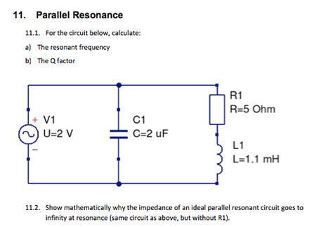 calculate capacitor resonant frequency calculating capacitor resonant frequency 28 images parallel resonance and parallel rlc