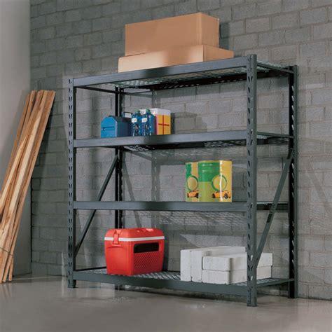 costco metal shelves whalen 4 tier 77 quot 195cm industrial storage rack costco uk