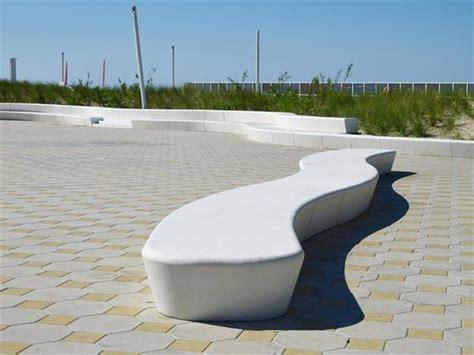 custom concrete benches custom concrete benches le touquet beachfront fr urbastyle 174 esi external works