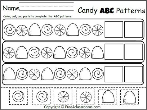 abc pattern for kindergarten 43 best christmas images on pinterest free worksheets