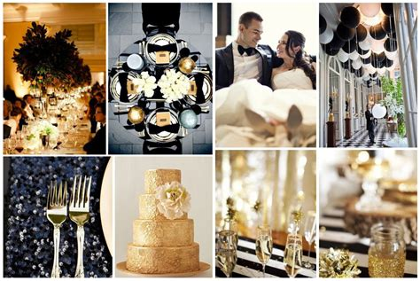 wedding themes gold and black are you the type for a winter wedding let s find out