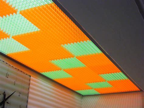 controsoffitto colorato controsoffitti fluorescenti ppp prodotti poliplastici