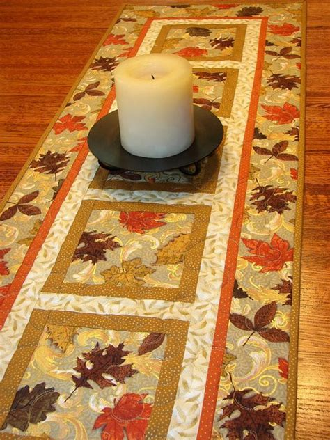 quilted table runners table runners and runners on