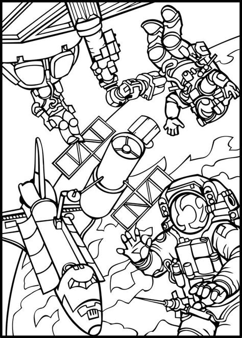 Outer Space Coloring Pages For Kids Coloring Home Space Coloring Pages