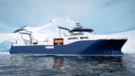 boat manufacturers finland w 228 rtsil 228 to design groundbreaking krill fishing factory vessel