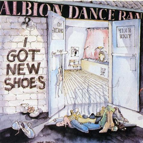 i got new shoes on my ride the albion band i got new shoes