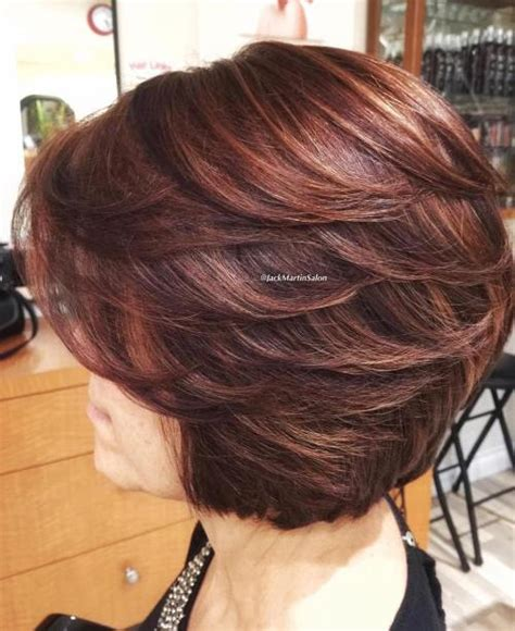 layered bob hairstyles for over 50 front and back view the best hairstyles for women over 50 80 flattering cuts