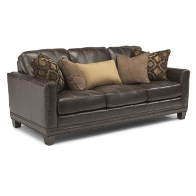 port royal leather sectional flexsteel 1373 31 port royal leather sofa discount