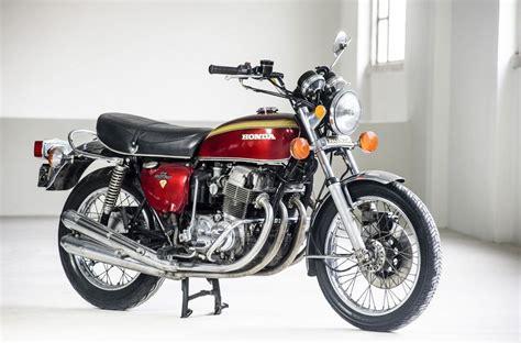 Motorrad Honda 750 Four by Honda Cb 750 Four Erfolg In Reihe