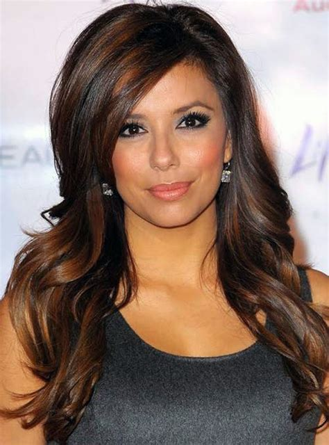 brown hair color with highlights inofashionstyle