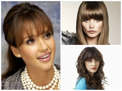 before and after hair styles of faces the best bang hairstyles for oval face shapes women