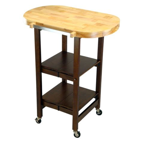 oasis island kitchen cart oasis oval folding kitchen island free shipping