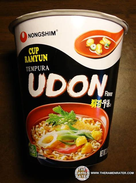 Udon Cup From 918 nongshim tempura udon flavor cup ramyun the ramen rater