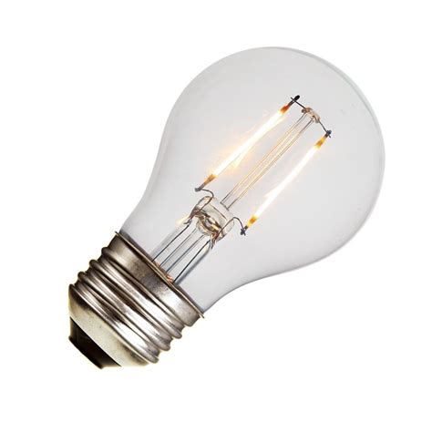 A19 Led Light Bulb With Decorative Filament 15 Watts Led Light Bulbs Equivalent Wattage
