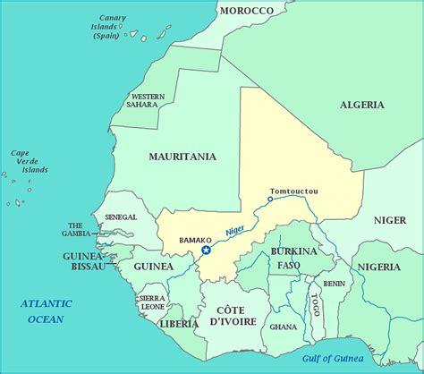 political map of mali detailed political map of mali mali detailed political