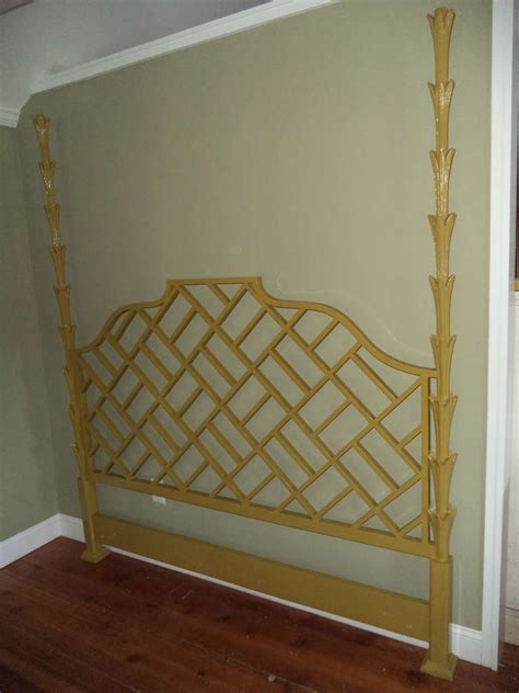 hollywood headboard hollywood regency king headboard at 1stdibs