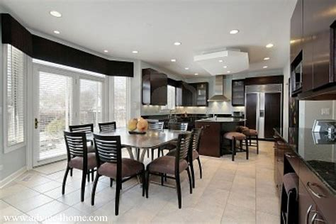 Dining Room By Kitchen New Ideas In Kitchen And Dining Room Tables Home Decors